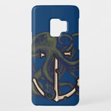 Steampunk Octopus Over Anchor Case-Mate Samsung Galaxy S9 Case