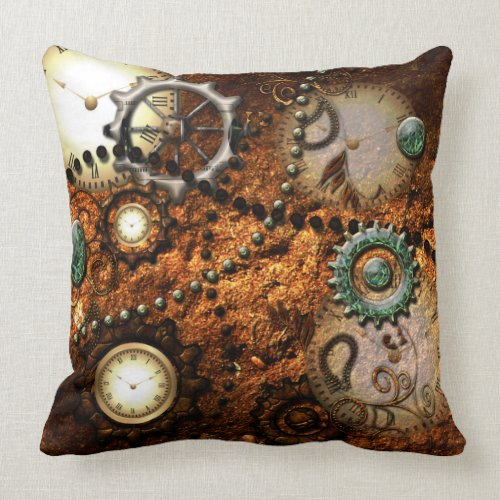 Steampunk Throw Pillows  Steampunkary