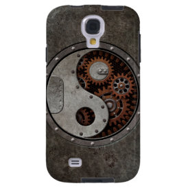 Steampunk Yin Yang Galaxy S4 Case