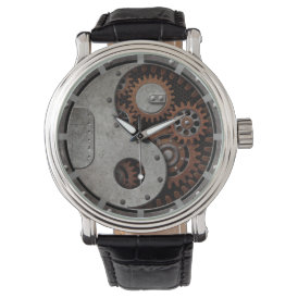 Steampunk Yin Yang Wrist Watch