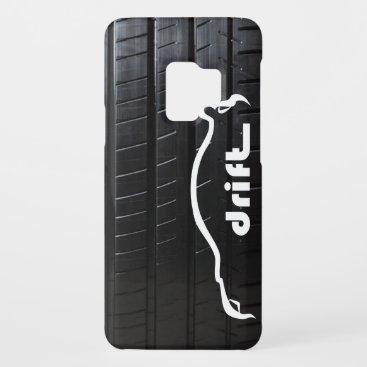 "STI ""drift"" with tire tread Case-Mate Samsung Galaxy S9 Case"
