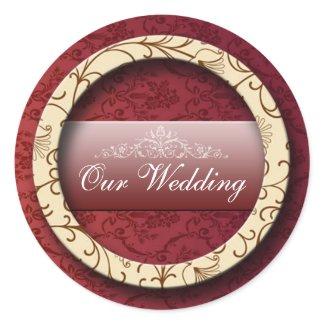 3d Wedding Sticker