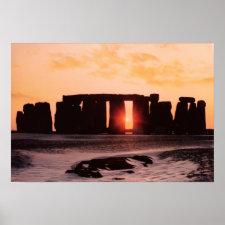 Stonehenge, Winter Solstice Poster