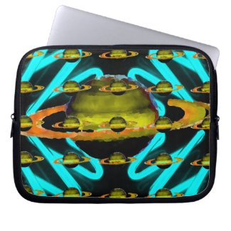 Strange 1 Zippered Neoprene Electronics Case by CricketDiane 2012