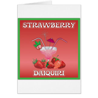Strawberry Daiquiri Cards