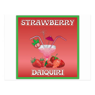 Strawberry Daiquiri Post Cards