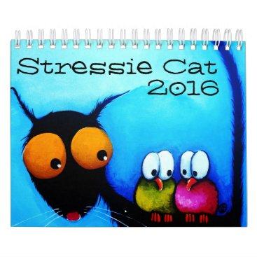 Stressie Cat 2016 calendar