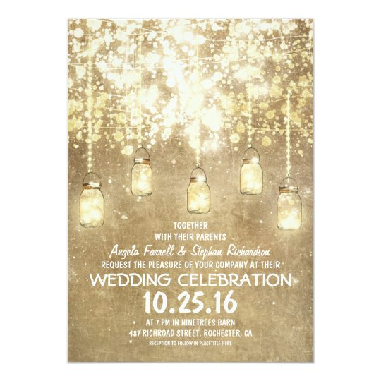 Rustic Wedding Invitations Jinaiji