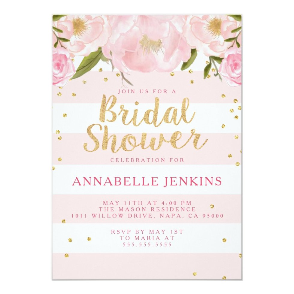 Bridal Shower | My Party Invitations