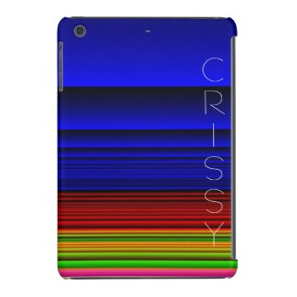 Striped BLUE Abstract Ipad Cases