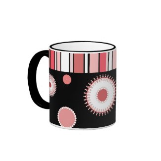 Stripes and circles - Mug