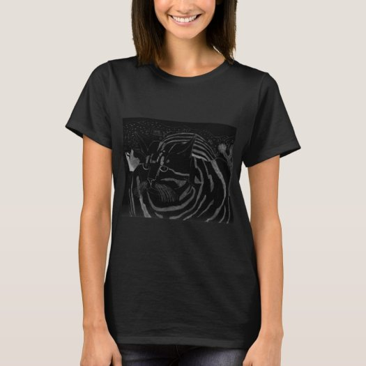 Stripey Cat At Joshua Tree Shirt