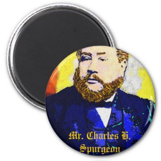 Stuck on Mr. Spurgeon Magnet magnet