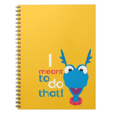 Stuffy - I Meant to do That Notebook