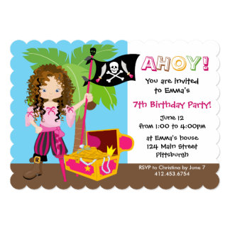 curly hair invitations & announcements