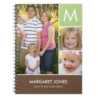 Stylish Initial Personalized Notebook