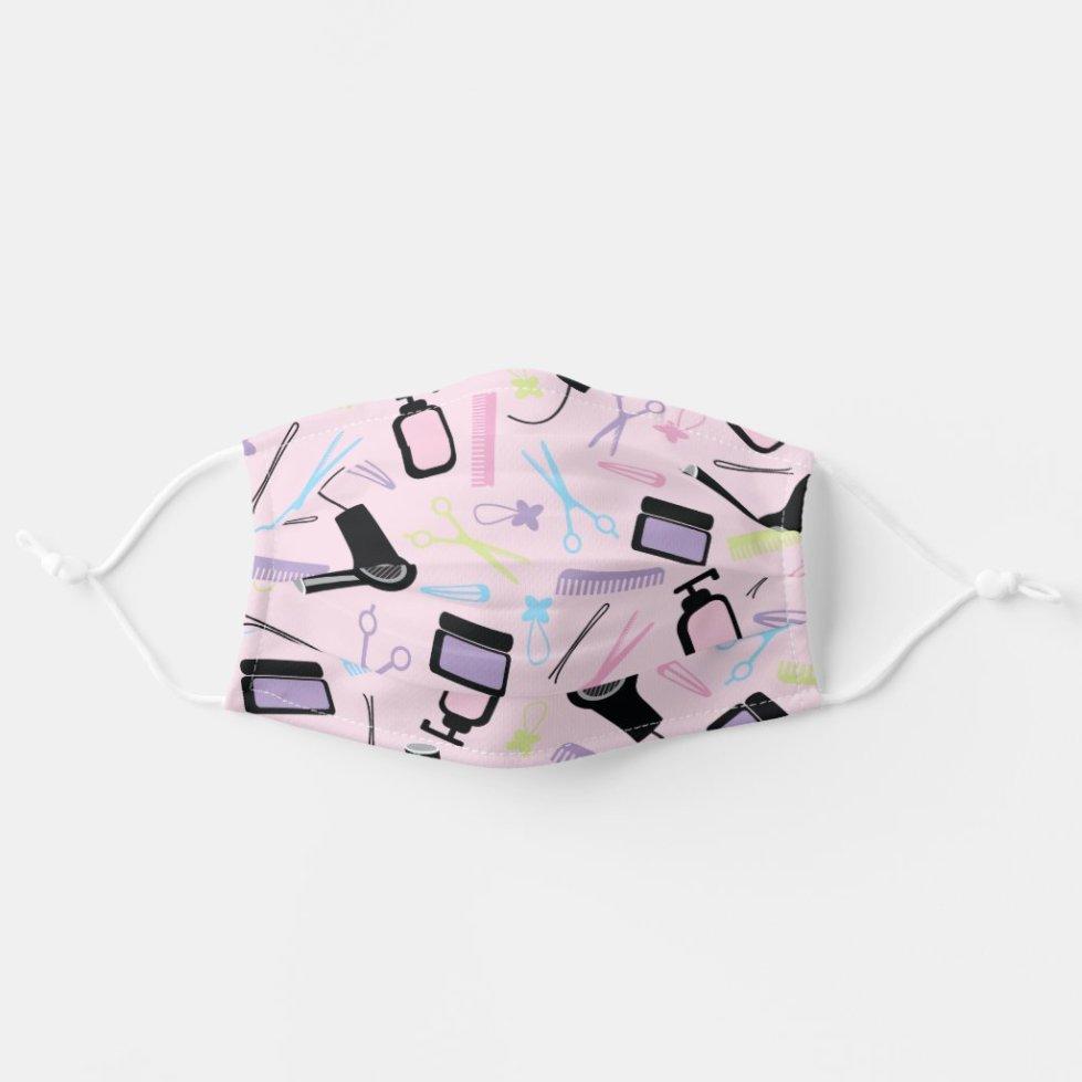 Stylist Salon Spa Pattern Gift Cloth Face Mask