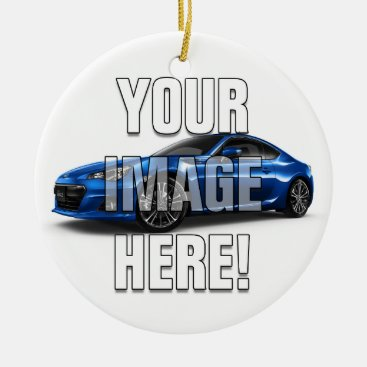 Subaru BRZ Photo - Add your car Ceramic Ornament