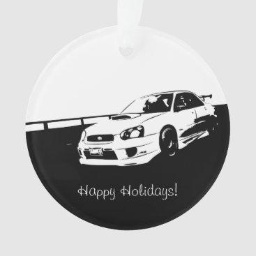 Subaru WRX Impreza STI - Drifting Ornament