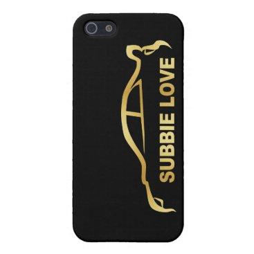 Subbie Sti Love Love Silhouette Logo iPhone SE/5/5s Cover