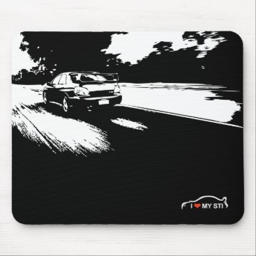 Suburu WRX STI - add your photo Mouse Pad