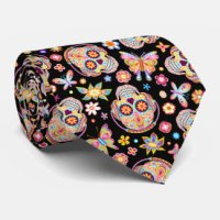 Sugar Skull Ties | Zazzle