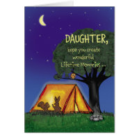 Summer Camp - Miss you - Daughter Card