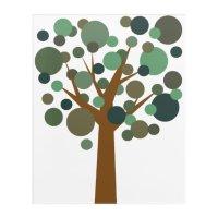 Summer Tree Acrylic Wall Art | Zazzle