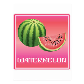 Summer Watermelon Postcards