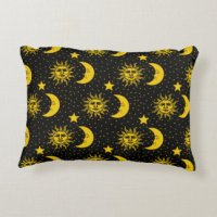 Sun And Moon Pillows - Decorative & Throw Pillows | Zazzle