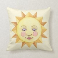 Sun - Pillow | Zazzle
