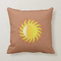Sol Pillows - Decorative & Throw Pillows | Zazzle