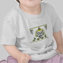 Sunflower Folk Pattern by Alexandra Cook t-shirts