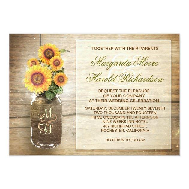Cute Country Wedding Invitations