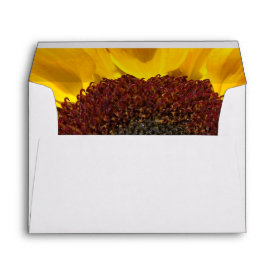 Sunflower Sun Envelope