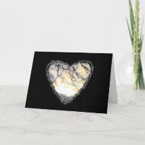 Sunrise Heart Valentine Romance Love Card