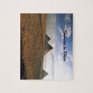 Sunrise on the Giza Plain Jigsaw Puzzle