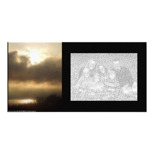 Sunrise over the Columbia River #1 photocard