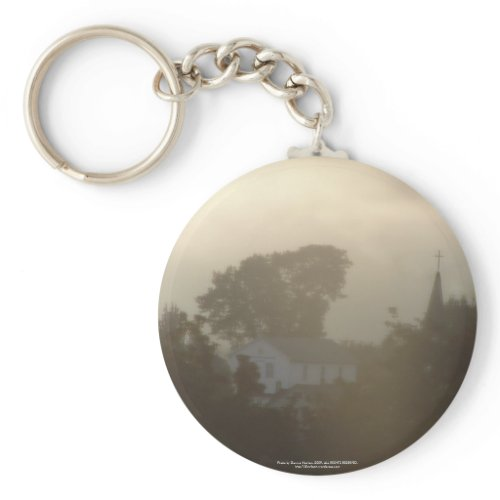Sunrise Over the Columbia River #5 keychain