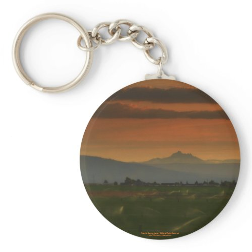 sunset sprinkers #2 keychain