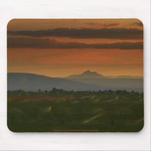 sunset sprinkers #2 mousepad