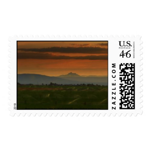 sunset sprinkers #2 stamp