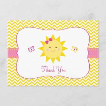 Sunshine Thank You Cards You Are My Sunshine