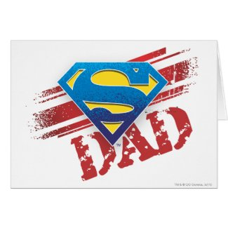 Super Dad Stripes Cards