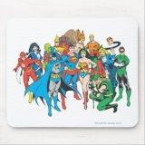 Justice League Mousepad