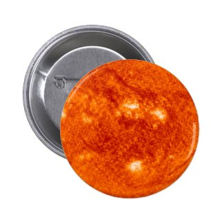 Super Prominence - Sun in Space 1 Inch Round Button