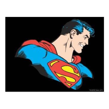 Superman Bust 4 Postcard