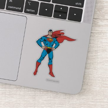 Superman Posing Sticker