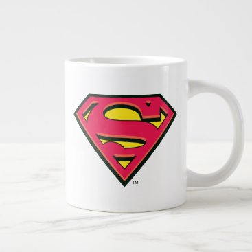Superman S-Shield | Classic Logo Giant Coffee Mug