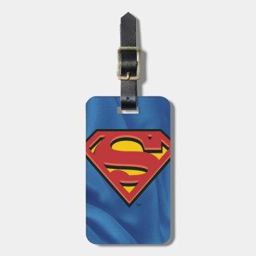 Superman S-Shield | Classic Logo Luggage Tag